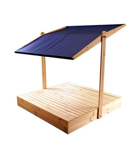 sandkasten mit dach deckel 120x120 6 varianten mit plane. Black Bedroom Furniture Sets. Home Design Ideas