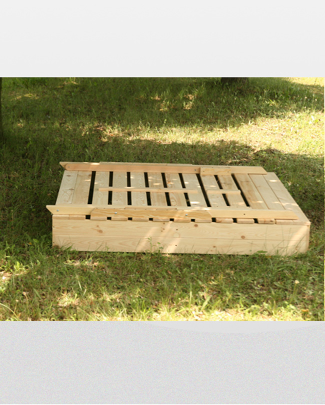 Sandpit P 15 47x250x120 Wooden Sandbox with TABLE & BENCH