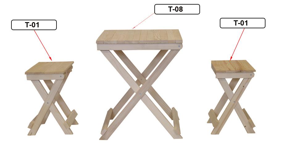 Beistelltisch Holz Klappbar ~ Klapptisch Beistelltisch holz tisch klappbar T 08 Nachttisch
