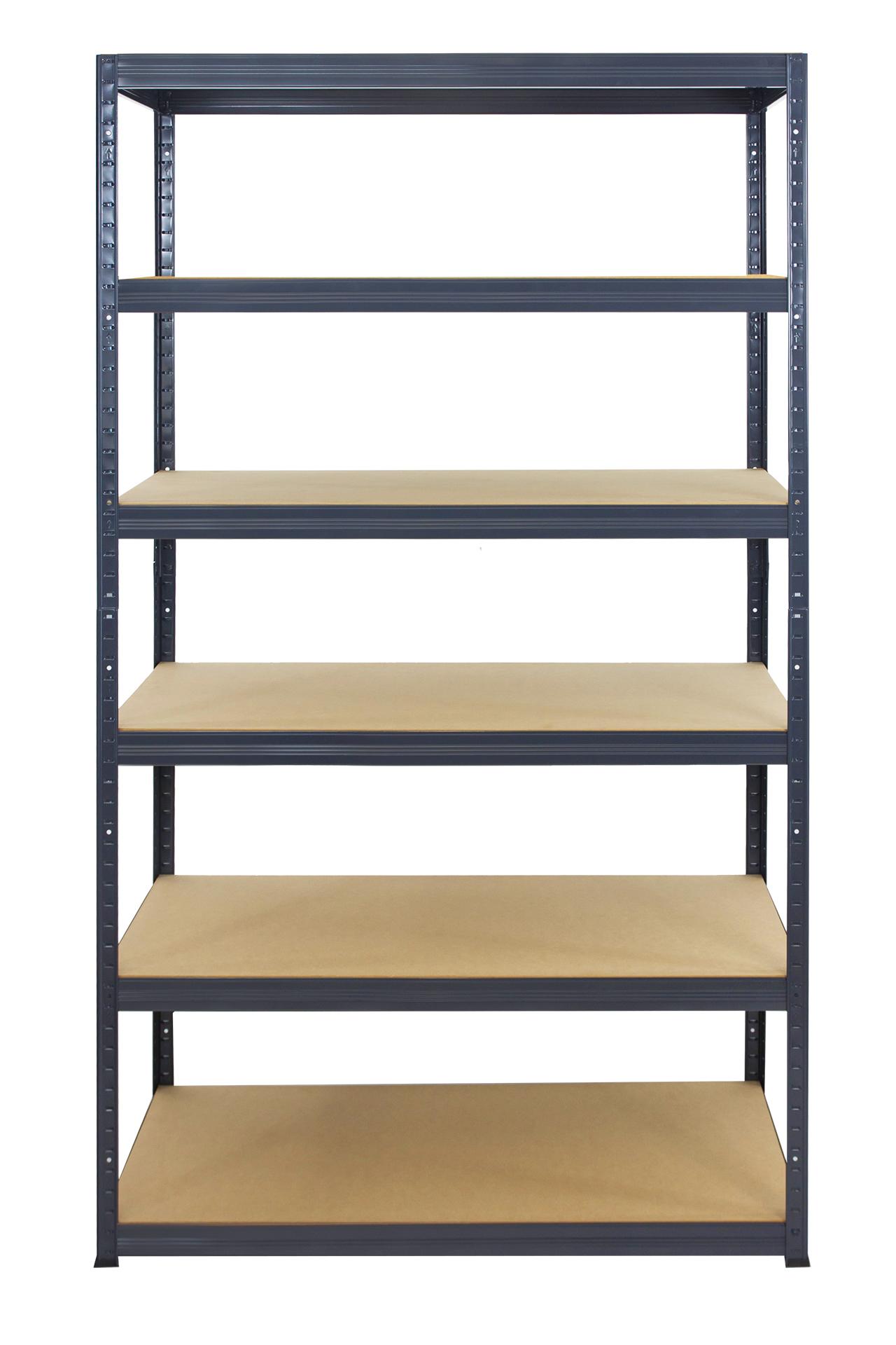 metallregal werkstatt schwerlastregal grau 213cm breiten ab 30 120 cm hgg ebay. Black Bedroom Furniture Sets. Home Design Ideas