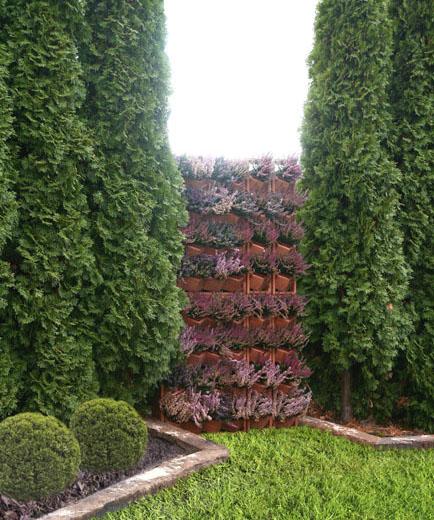 vertikaler garten blumenkasten topf vertical garden green. Black Bedroom Furniture Sets. Home Design Ideas
