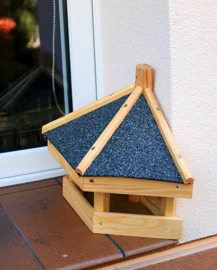 vogelhaus k 3 vogelh user vogelfutterhaus vogelh uschen aus holz ohnest nder ebay. Black Bedroom Furniture Sets. Home Design Ideas