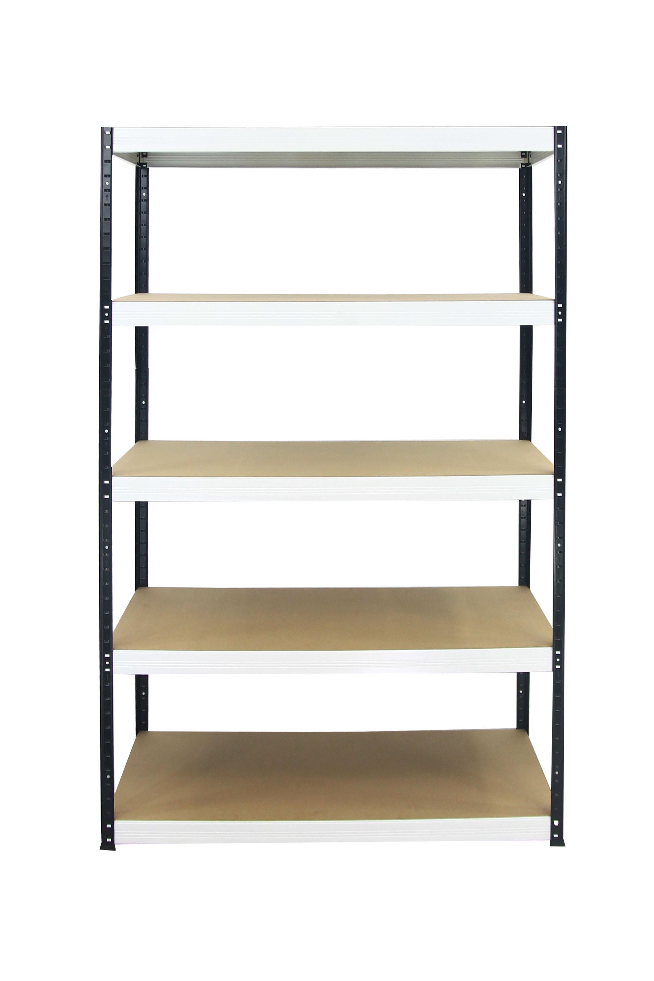 metallregal werkstatt schwerlastregal schwarz wei 175 275 350 400kg hbw 180 cm ebay. Black Bedroom Furniture Sets. Home Design Ideas