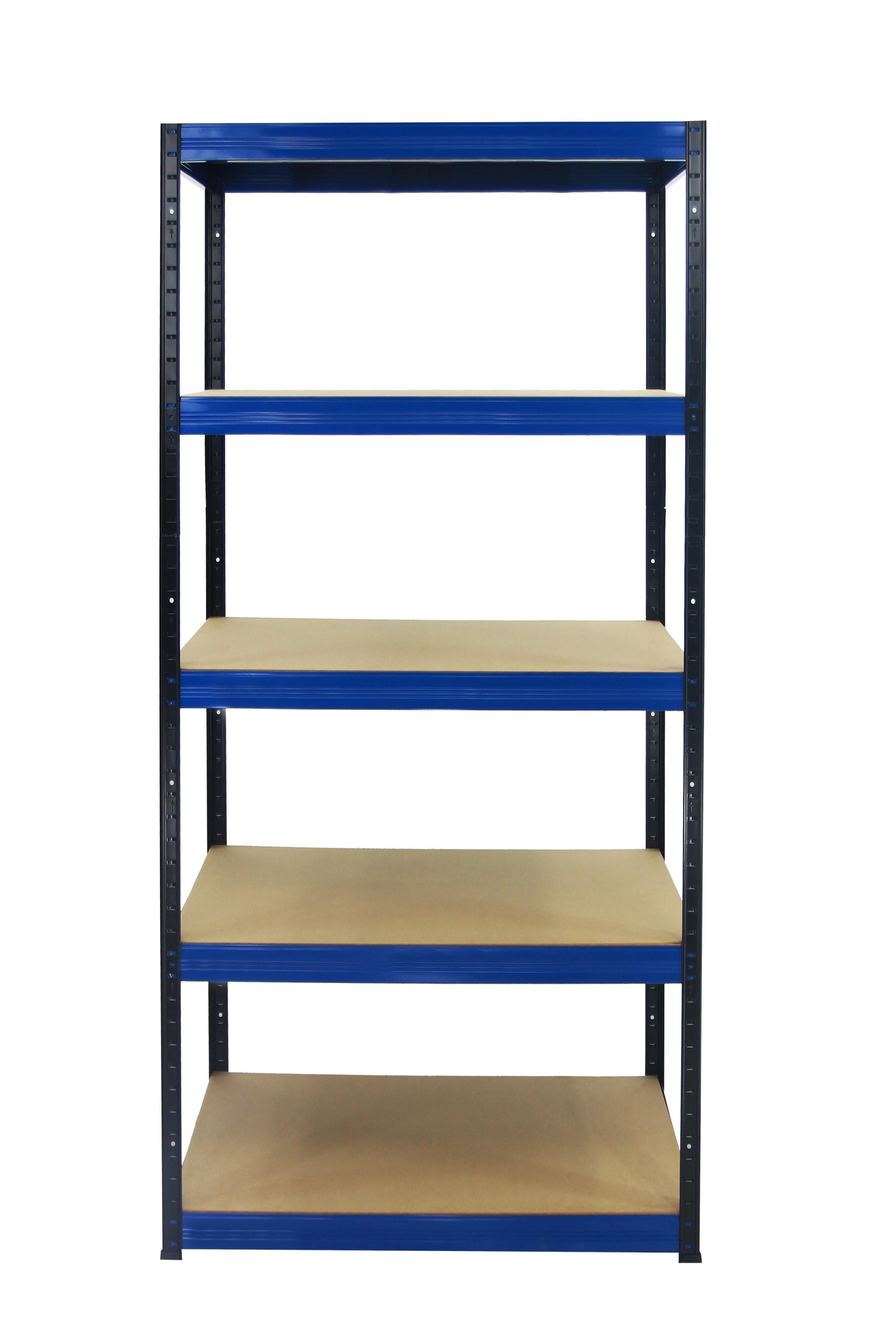 metallregal werkstatt schwerlastregal schwarz blau 175 275 350 400kg hbn 180 cm ebay. Black Bedroom Furniture Sets. Home Design Ideas